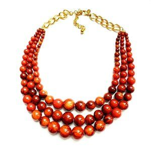 Joan Rivers Triple Strand Necklace